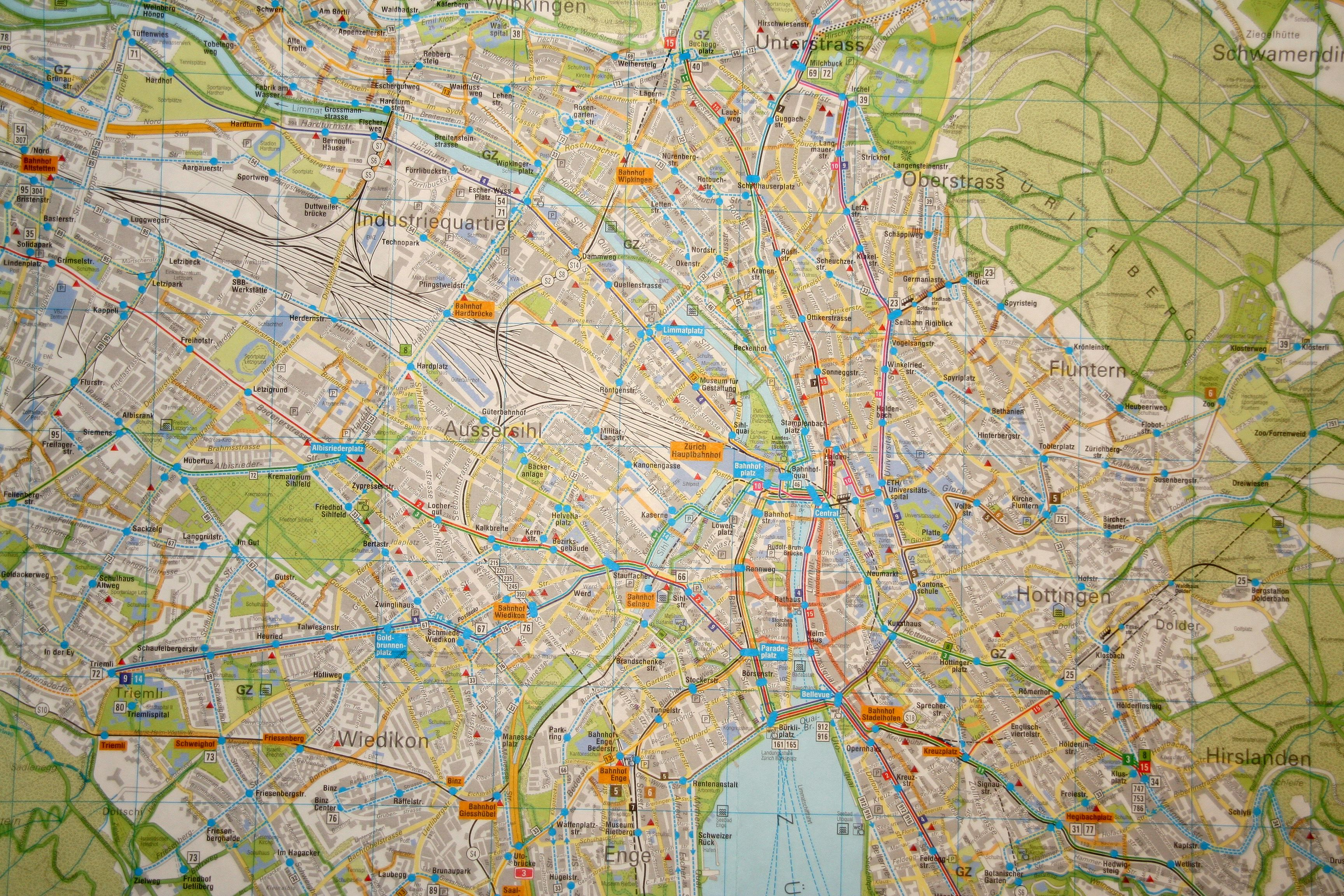 ... and into map.search.ch the ...